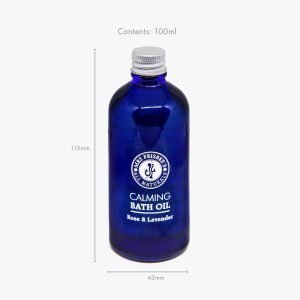 Calming Bath Oil product measurements