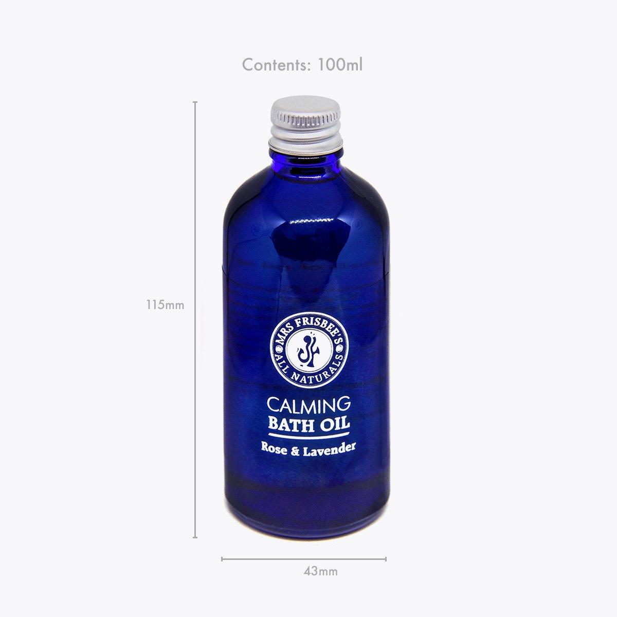 Calming Bath Oil product measurements