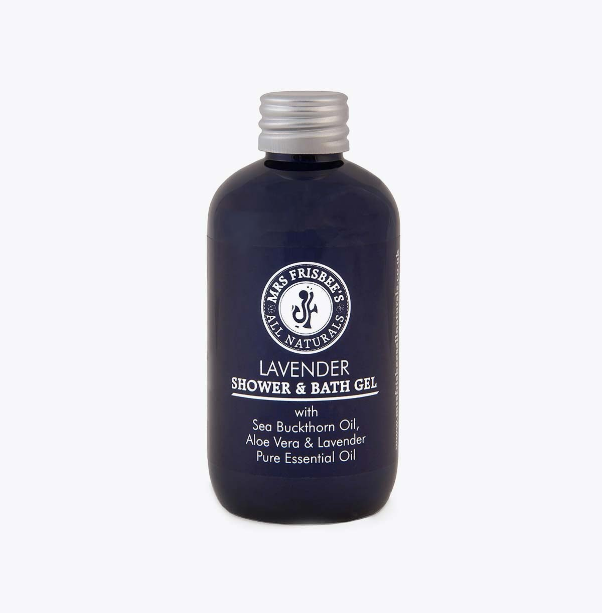 Lavender Shower Gel 100ml, with sea buckthorn oil, aloe vera and lavender pure essential oil.