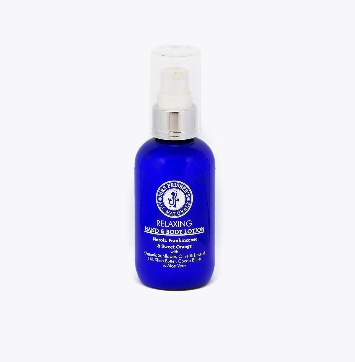 Organic Body Lotion - relaxing hand and body lotion with pure essential oils.
