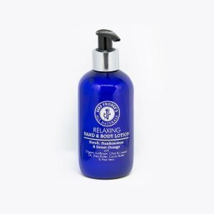 Organic Body Lotion with Neroli, Frankincense and Sweet Orange essential oils.
