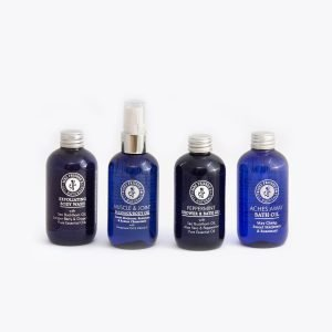 The Sports Gift Set comprises 4 individual 100ml bottles.