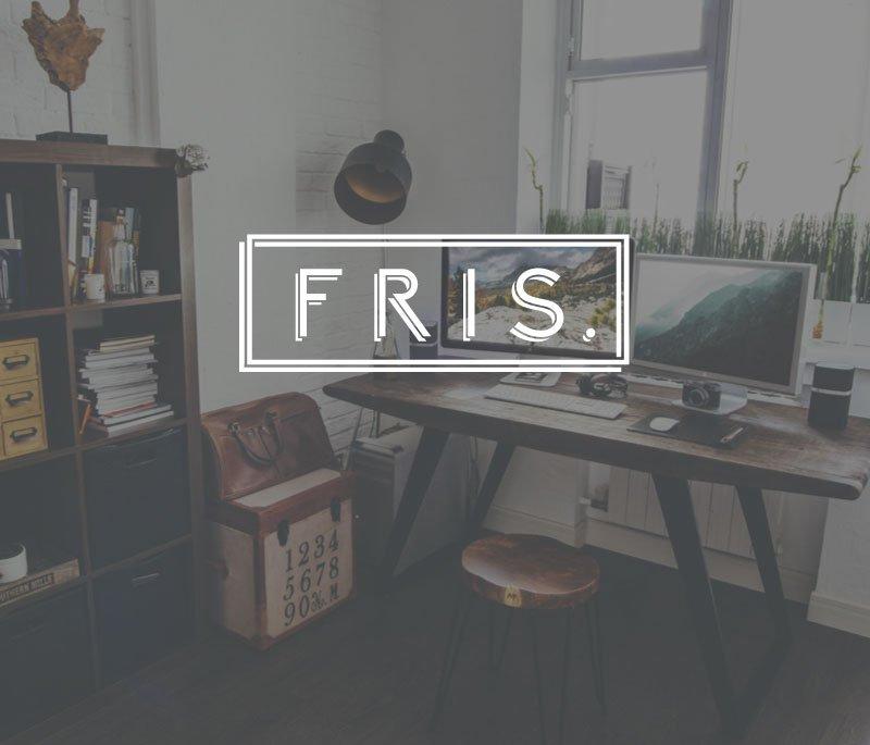Vintage-design Manchester freelance graphic designer Ben Frisbee.