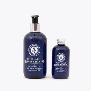 Peppermint Shower and Bath Gel bundle