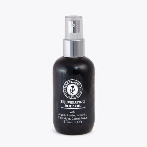 Rejuvenating Decolletage and Body Oil by Mrs Frisbee's All Naturals.