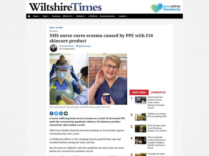 NHS Nurse Praises Our Jojoba Butter
